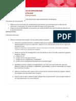 Unidad II- Pauta Informe Competencias de Empleabilidad- Edificación