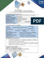 Guía de Actividades y Rúbrica de Evaluación - Pre-tarea Generalidades Del Dibujo de Ingeniería