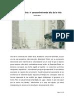 Estanislao Zuleta - El Pensamiento Más Alto de La Vida - Frank David Bedoya Muñoz - Versión 2016