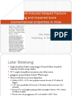 Glucocorticoid-Induced Delayed Fracture Healing and Impaired Bone Biomechanical