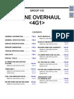 4G15M Turbo Engine Manual