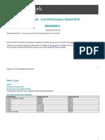 Live Performance Award Ma000081 Pay Guide