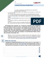 Resumo 837675 Rodrigo Cardoso 60553575 Lei Complementar 840-11-2018 Aula 04 Estabilidade e Estagio Probatorio