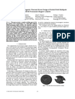 Complete Nonlinear Magnetic-Thermal-Stress Design of Radial Field Multipole PMG IEMDC_2005_Rosu