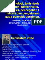 Dr Nanang Sukmana, SpPD-KAI - Penyakit Autoimun