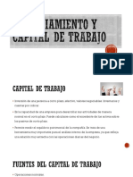 4.2 Financiamiento y Capital de Trabajo