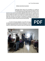 Reflexión Sobre Labor Humanitaria 22