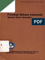 Fonologi Bahasa Indonesia - Sebuah Studi Deskriptif