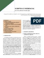 Estadisticadescriptivaseinferancial
