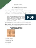 Actividad Individual (Variable Discreta y Continua)