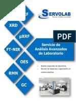 Catalogo Servicios Analiticos Servolab Overseas Inc 2017.c
