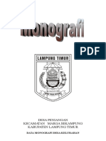 Monografi Desa Peniangan