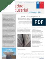 Articulo Sobre Propiedad Industrial en Chile