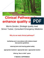 12.Clinical Pathways Morris Gordon