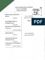 Memorandum Anton Andrew Rivera Denise Ann Rivera Appellants v. Deutsche Bank National Trust Company Trustee of Certificate Holders of the Wamu Mortgage Pass Through Certificate Series 2005 Ar6