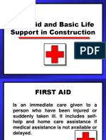 Firstaid in Construction
