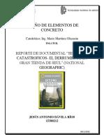 Reporte de Documental