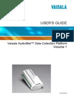 Hydromet Data Collection Platform Users Guide Vol 1 M210784EN-E