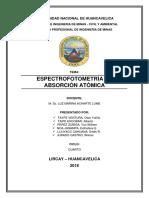 Espectrofotoscopia de Absorcion Atomica