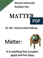1. MATTER Properties States Changes Measuring (1)