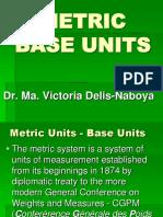 3. Metric Base Units