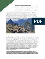 Machu Picchu Planeacion
