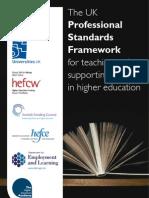 Professional Standards Framework