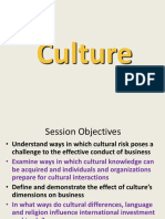 Session - Culture