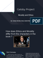 great gatsby project