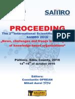 Proceeding Samro Sibiu