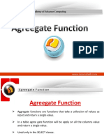 Agreegate Function
