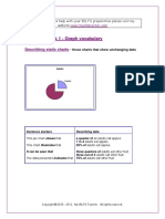 IELTS Writing Task 1 Vocabulary for Graphs