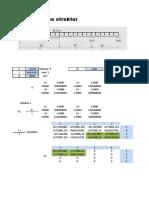 Tugas II (Analisa Struktur Metode Matrix) Resky