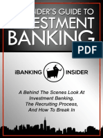 The Insider's Guide To Investment Banking.pdf