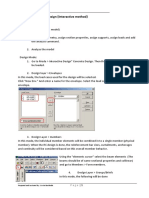 STAAD Pro Tutorial - Lesson 05 - Concrete Design - Interactive Method