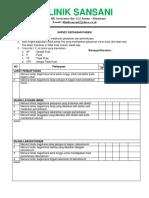QUISIONER SURVEY  KEPUASAN PELANGGAN 1.docx