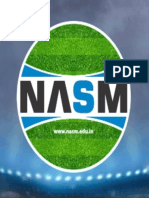 NASM - National Academy of Sports Management - India