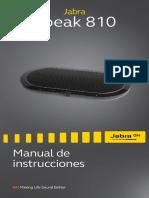 Jabra Speak 810 User Manual_EN RevA_ES