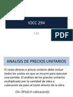 Clase4IOCC294_TdeLict_PrecionUnit