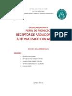 Perfil radiacion