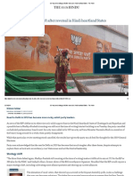BJP May Need Strategy Shift After Reversal in Hindi Heartland States - The Hindu