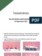 (FINAL)Transportasi Dan Balut Bidai