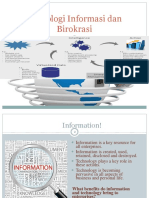 9. Teknologi Informasi Dan Birokrasi