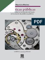 Merino, Mauricio (Libro2013) - Políticas Públicas. Ensayo Sobre La Intervención Del Estado