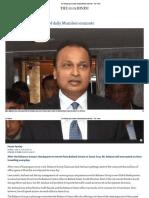 Anil Ambani Gets a Taste of Daily Mumbai Commute - The Hindu