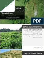 Control de La Erosión Con Practicas Vegetativas