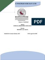Trabajo de Aanalisis NOM vs ISO 9000