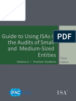 Guide to Using International Standards on Auditing in the Audits of Small- And Medium-Sized Entities Volume 2 —Practical Guidance