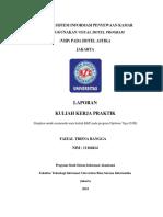 Analisa Sistem Informasi Penyewaan Kamar Menggunakan Visual Hotel Program (Vhp) Pada Hotel Astika Jakarta
