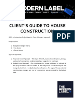 Client's Guide to Design and Build